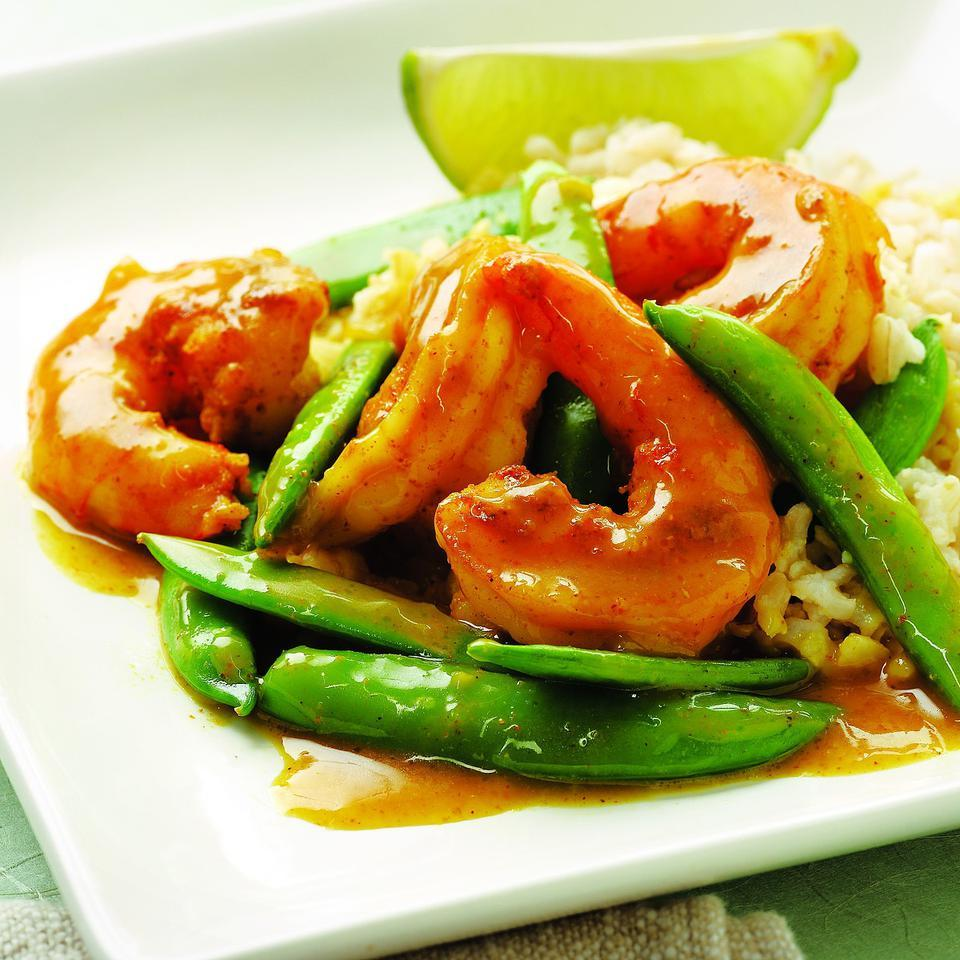 Sugar Snap Pea & Shrimp Curry EatingWell Test Kitchen