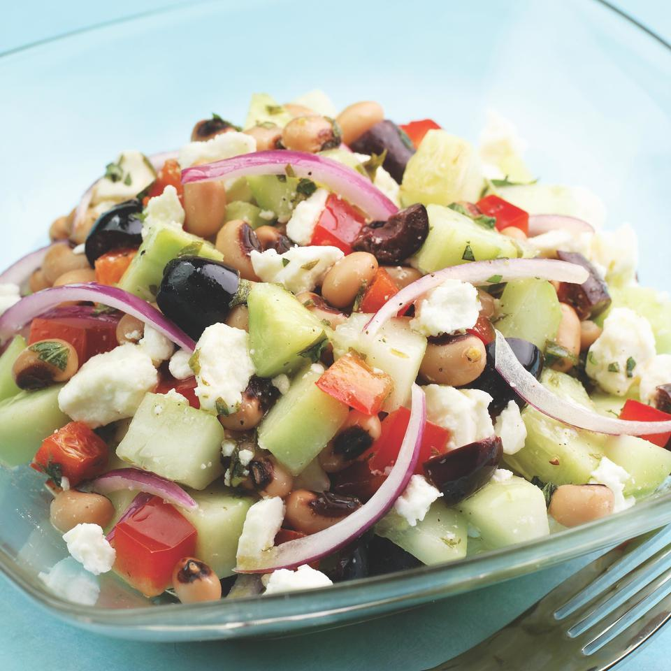 Cucumber & Black-Eyed Pea Salad EatingWell Test Kitchen