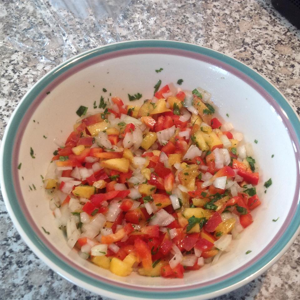 Chef John's Nectarine Salsa Crabbiguy