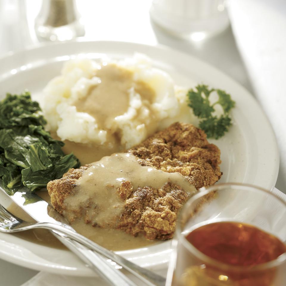 Chicken-Fried Steak & Gravy EatingWell Test Kitchen