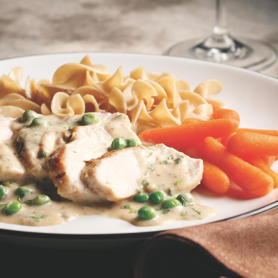 Chicken with Tarragon Cream Sauce Perla Meyers