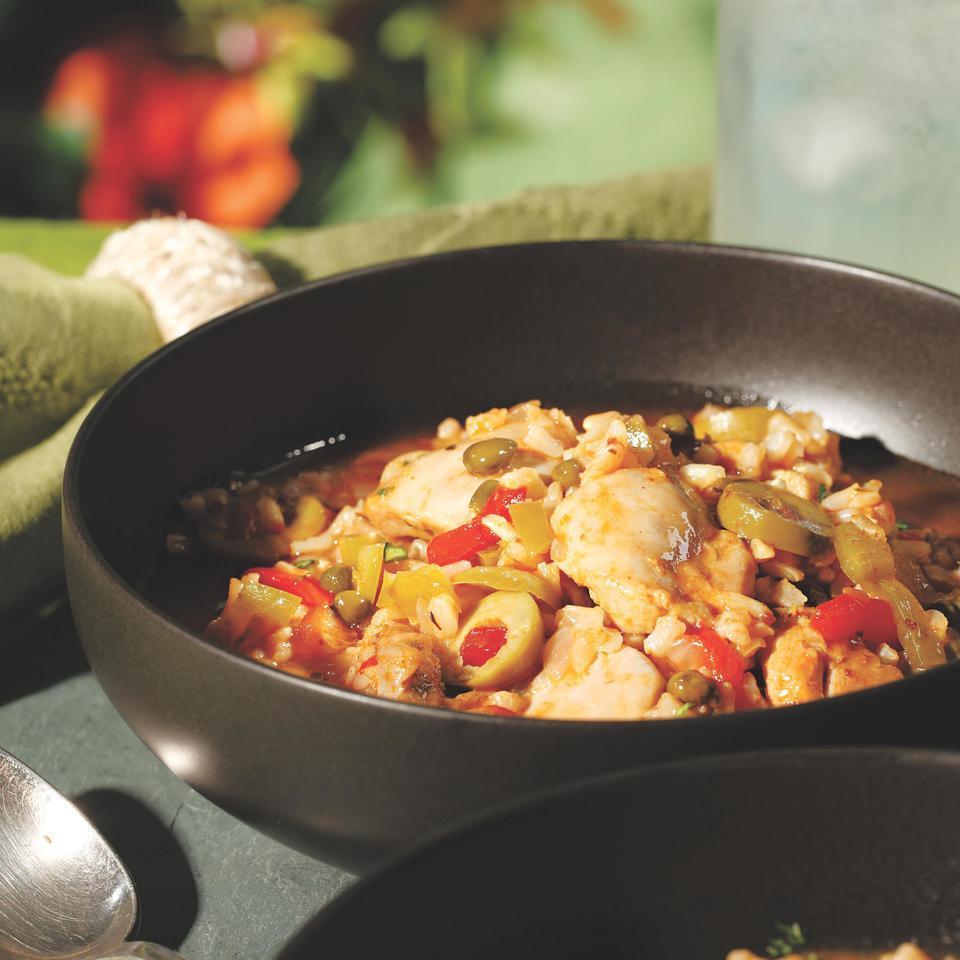 One-Dish Chicken & Rice (Asopao de Pollo) Scott Rosenbaum