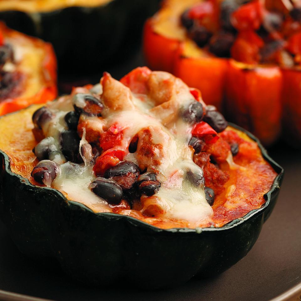 Southwestern Stuffed Acorn Squash EatingWell Test Kitchen