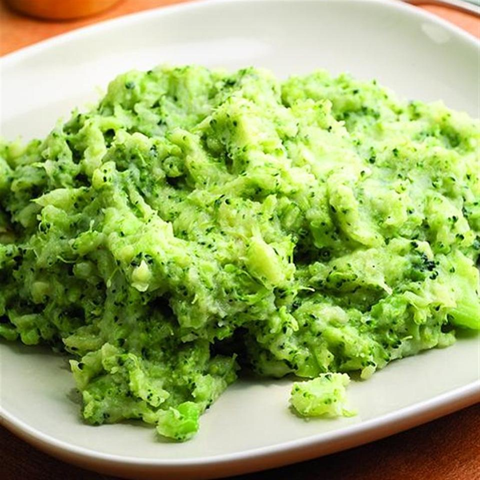 Cheesy Broccoli-Potato Mash EatingWell Test Kitchen