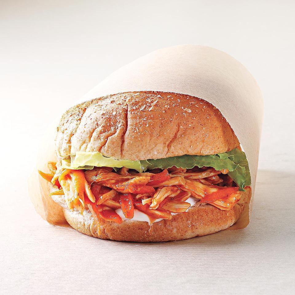 BBQ Chicken Sandwich EatingWell Test Kitchen
