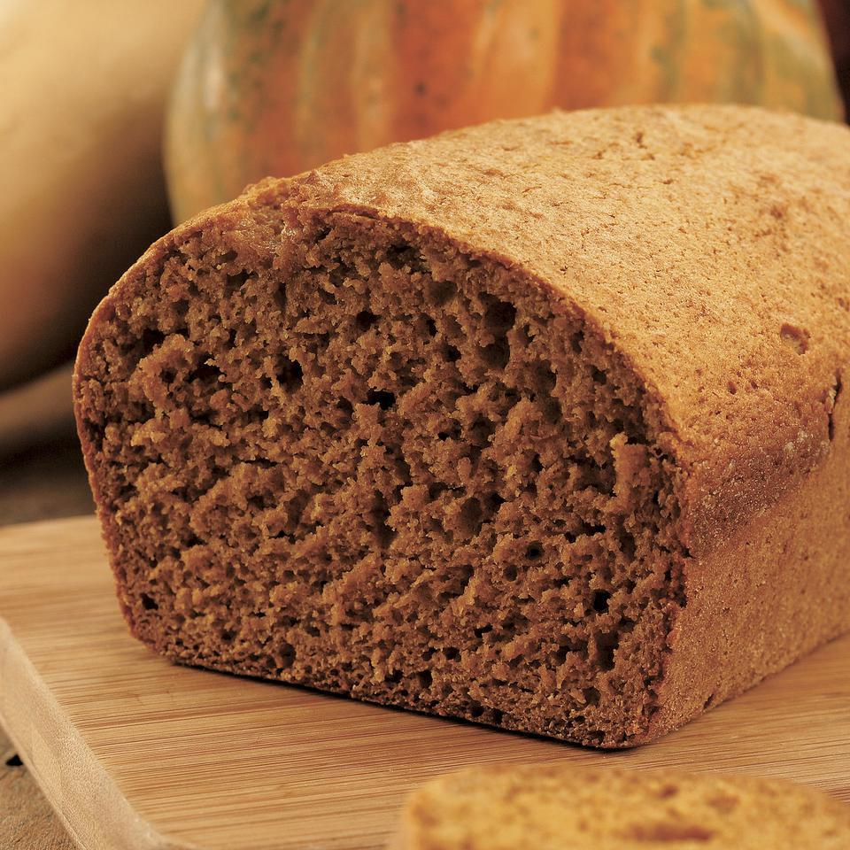 Pureed winter squash, honey and sugar give this tea bread a round, rich sweetness. It's terrific warm with a little pat of butter for breakfast, snack or even dessert and of course afternoon tea, if you're so inclined.