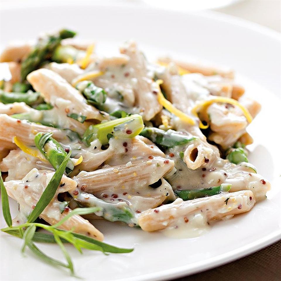 Lemony Asparagus Pasta EatingWell Test Kitchen