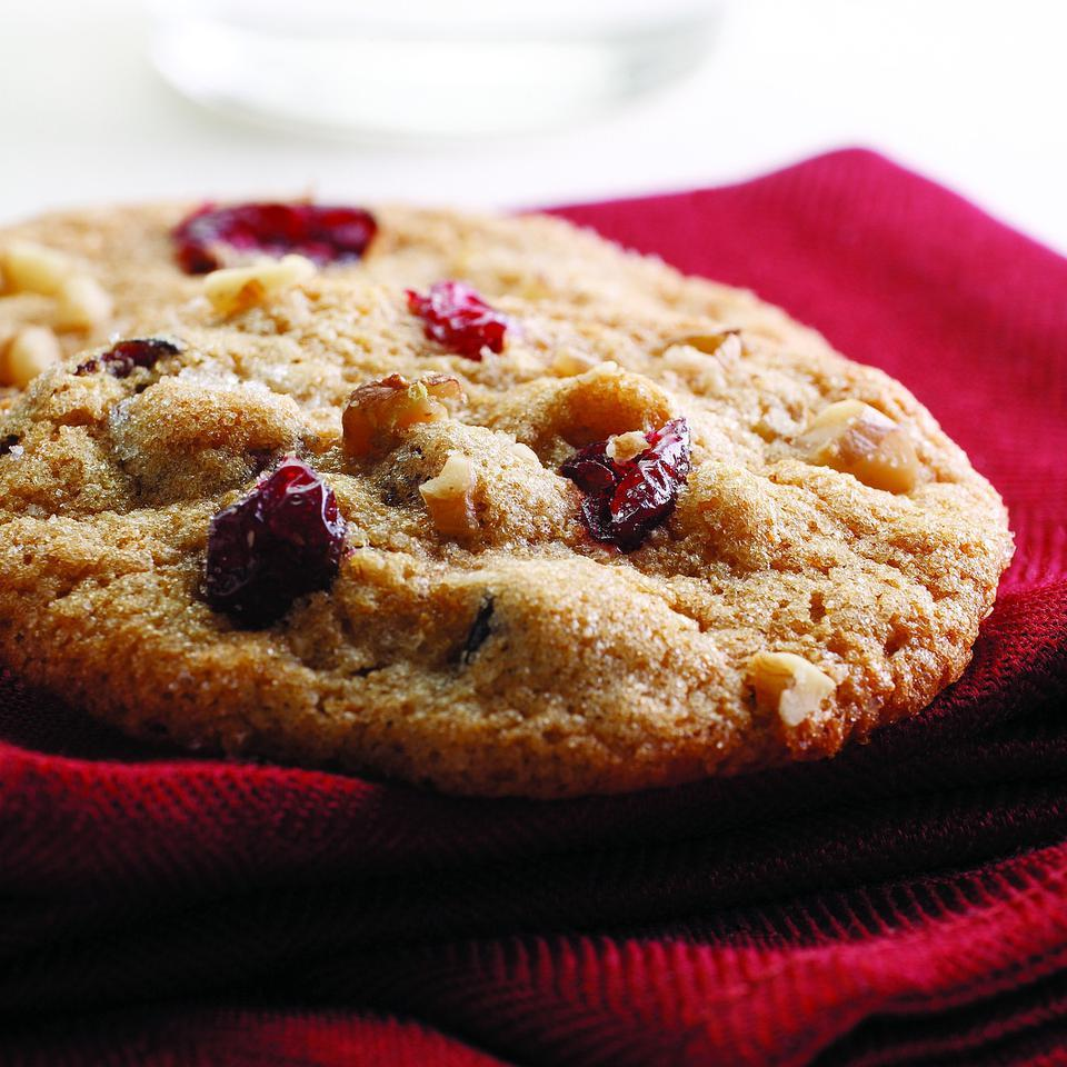 Cranberry-Orange-Nut Cookies EatingWell Test Kitchen