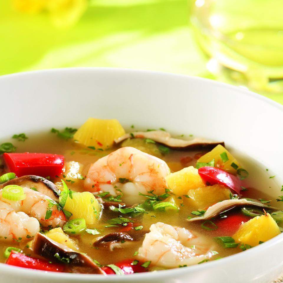 Tom Yum Soup with Pineapple EatingWell Test Kitchen