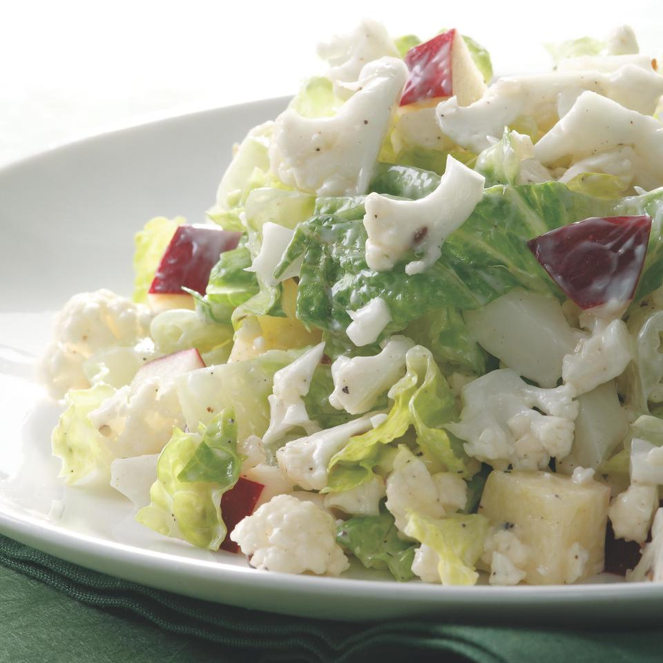 Creamy Chopped Cauliflower Salad EatingWell Test Kitchen