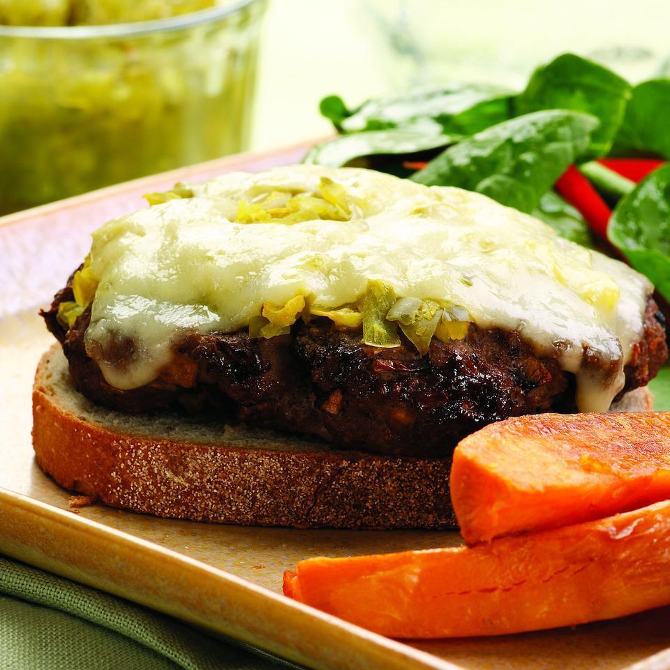 Portobello & Beef Patty Melt EatingWell Test Kitchen