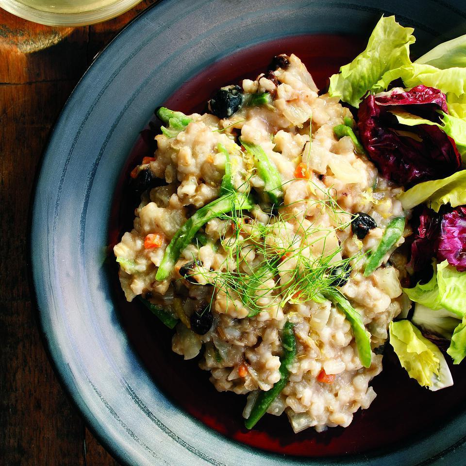 Barley Risotto with Fennel Patsy Jamieson
