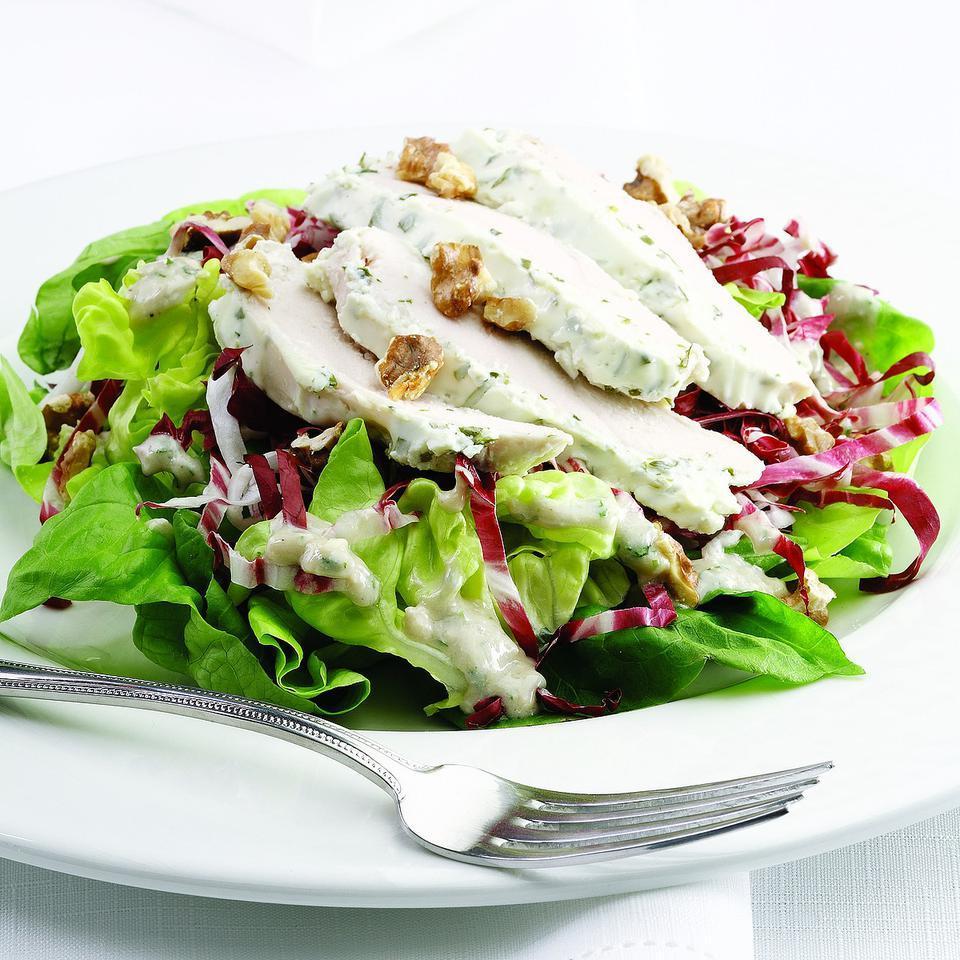 Spring Chicken & Blue Cheese Salad Ellen Ecker Ogden