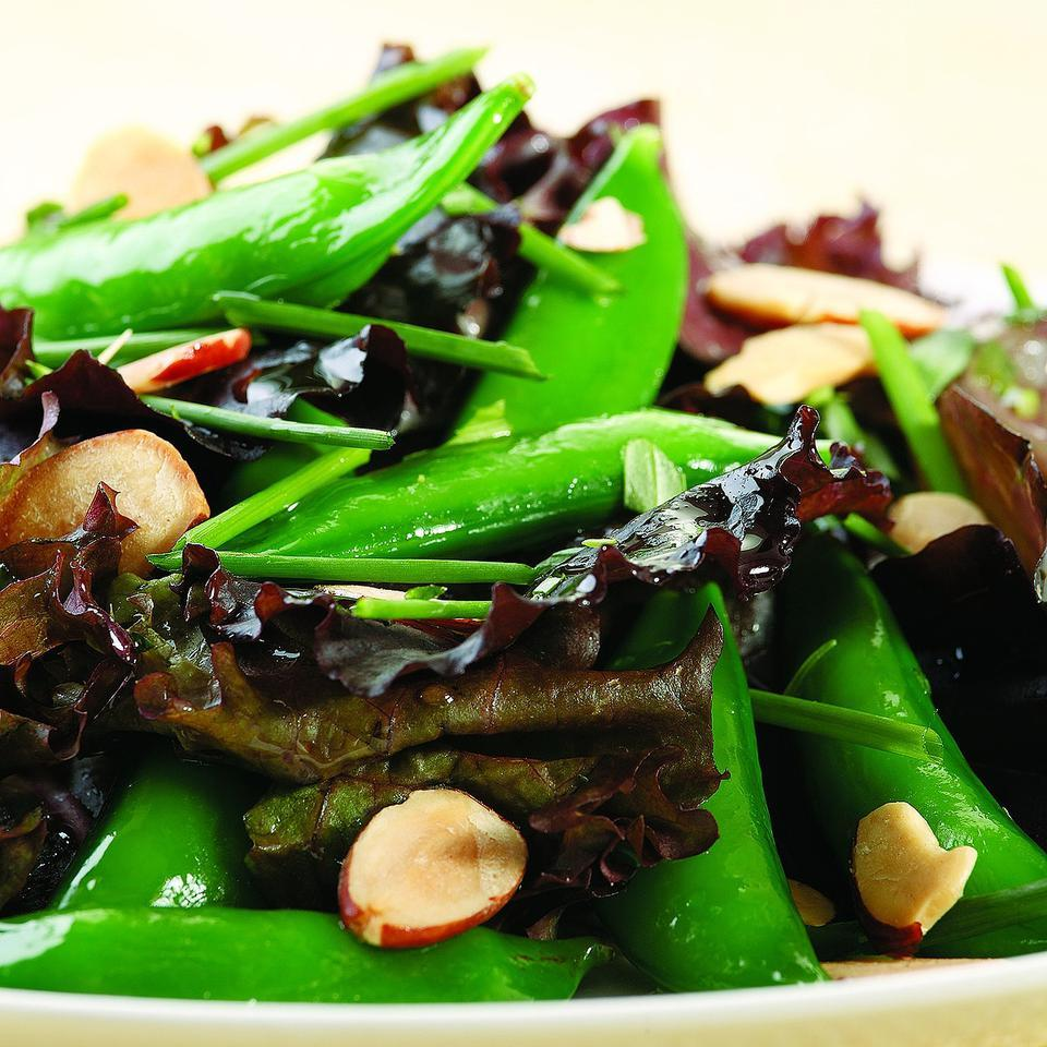 Fresh Herb & Snap Pea Salad EatingWell Test Kitchen