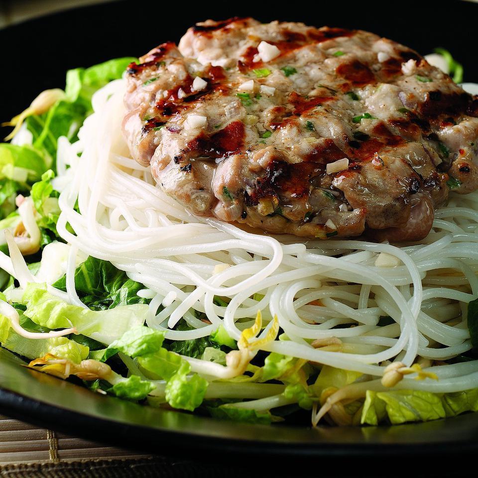 Hanoi-Style Tuna Patty Salad Bruce Aidells