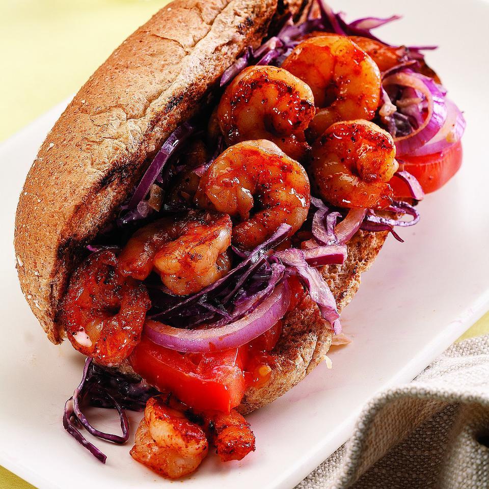 Shrimp Po' Boy EatingWell Test Kitchen