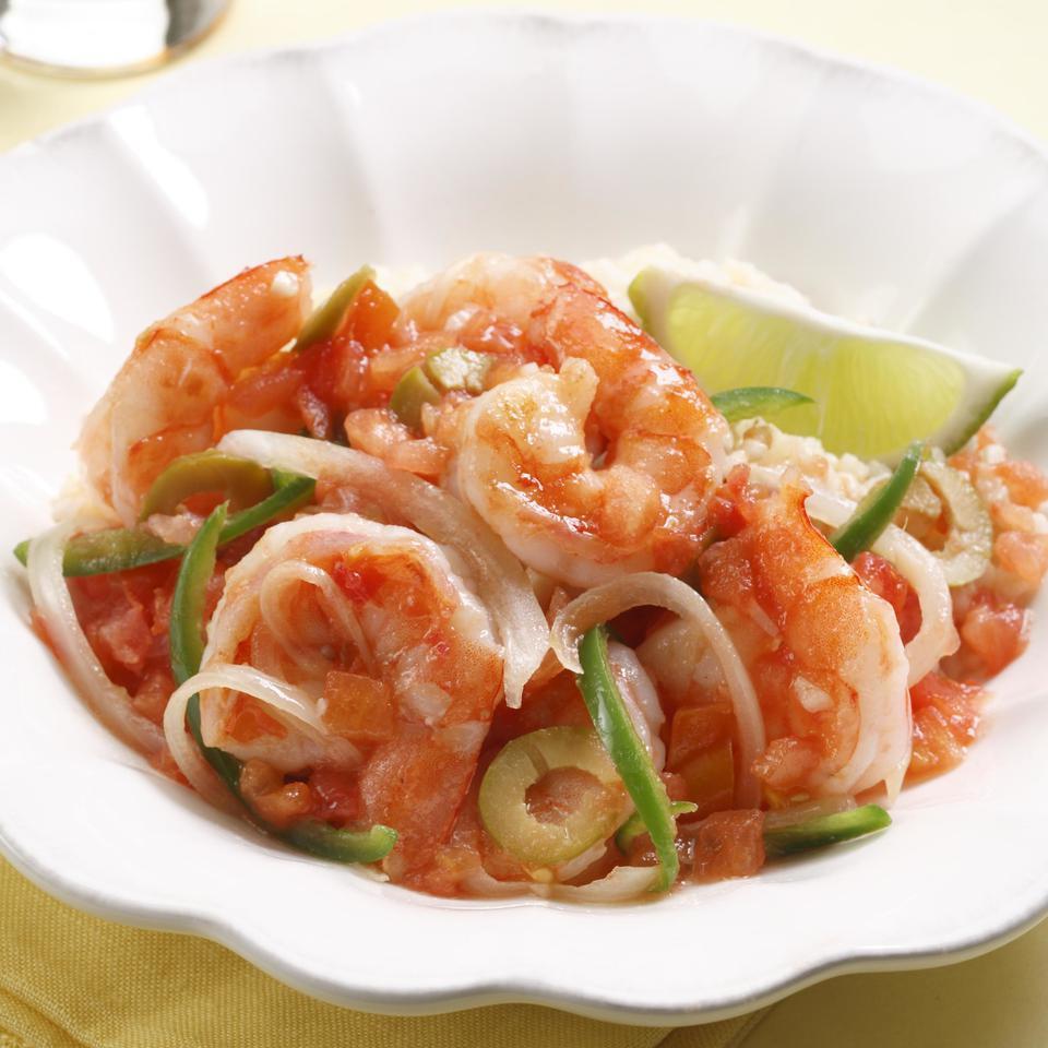 Shrimp Veracruzana EatingWell Test Kitchen
