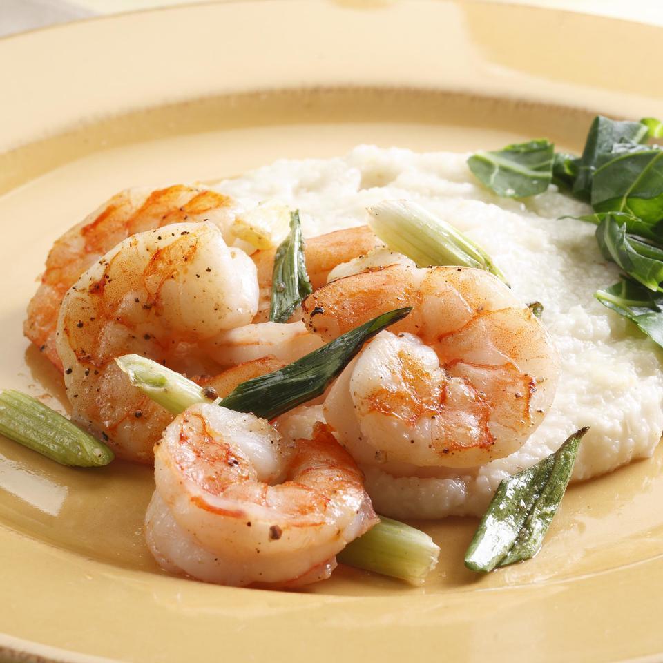 Shrimp & Cheddar Grits EatingWell Test Kitchen