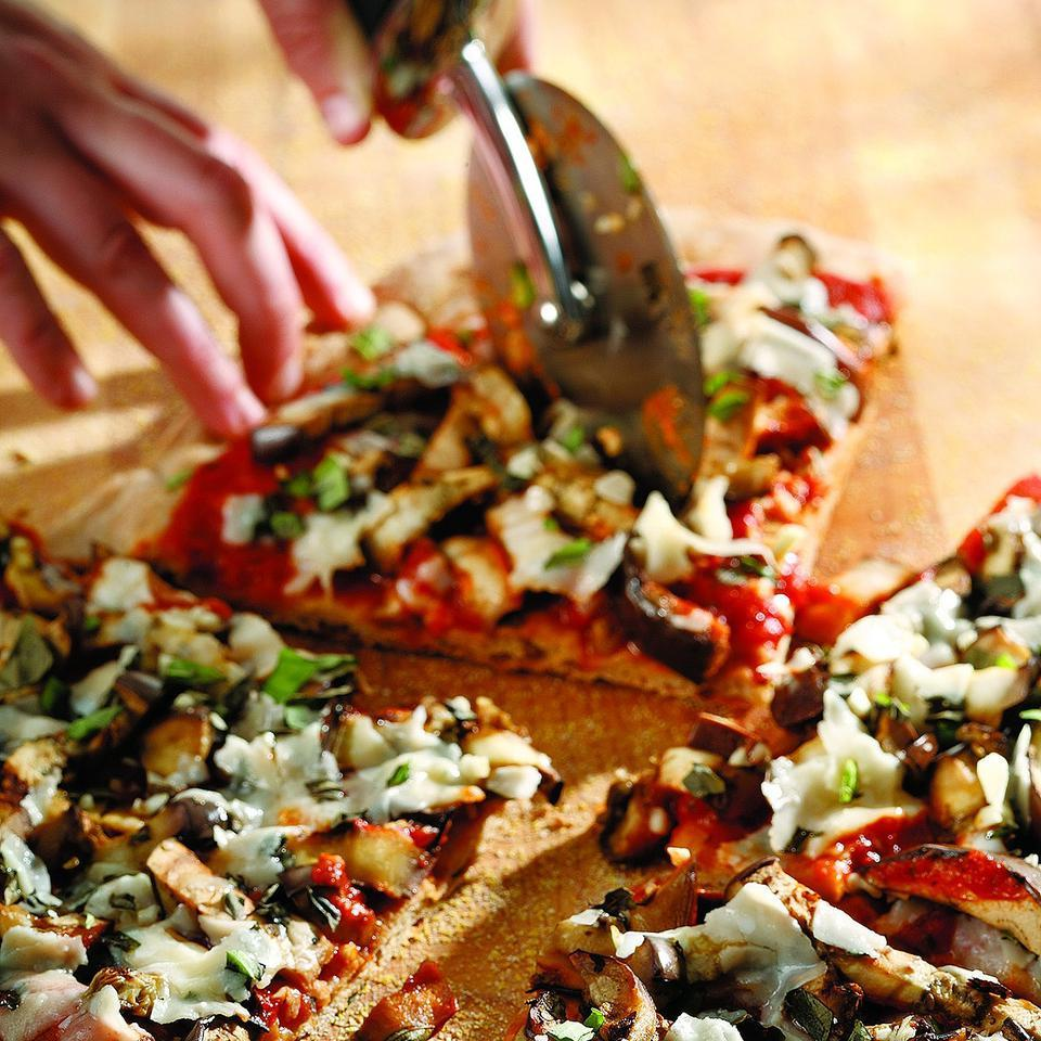 Eggplant Parmesan Pizza EatingWell Test Kitchen