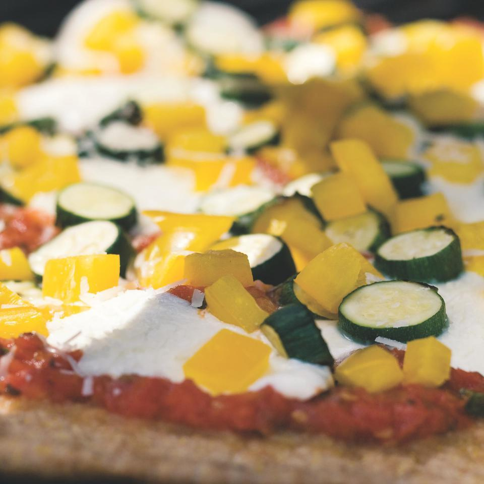 Garden Pizza EatingWell Test Kitchen