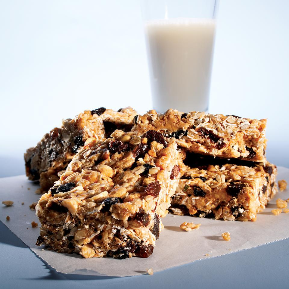 Peanut Energy Bars EatingWell Test Kitchen