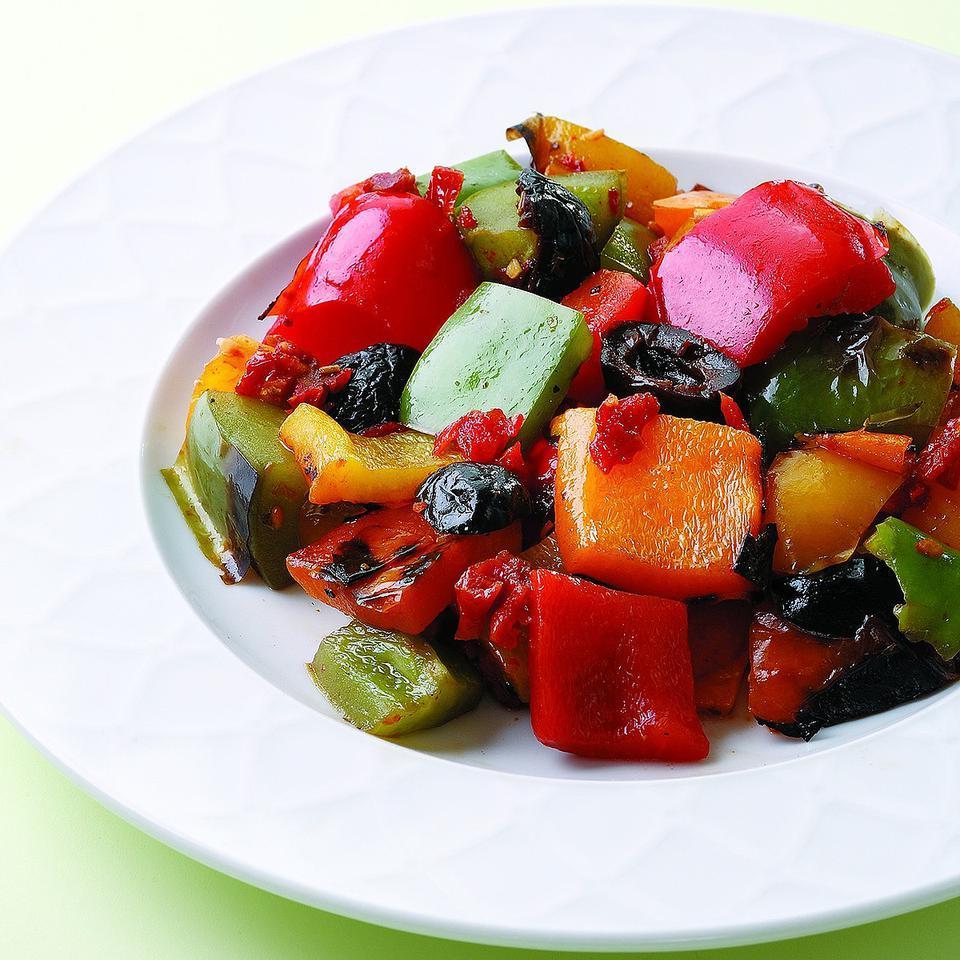 Grilled Pepper Salad EatingWell Test Kitchen