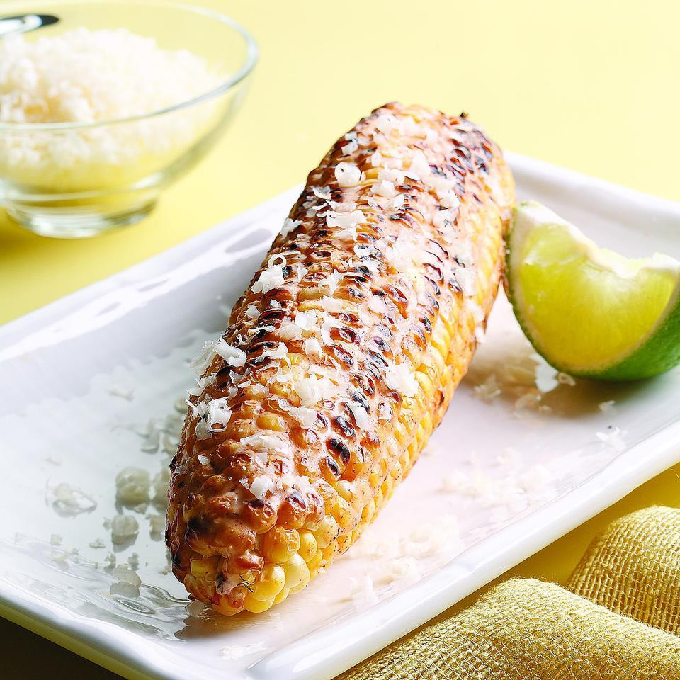Mexican Grilled Corn EatingWell Test Kitchen