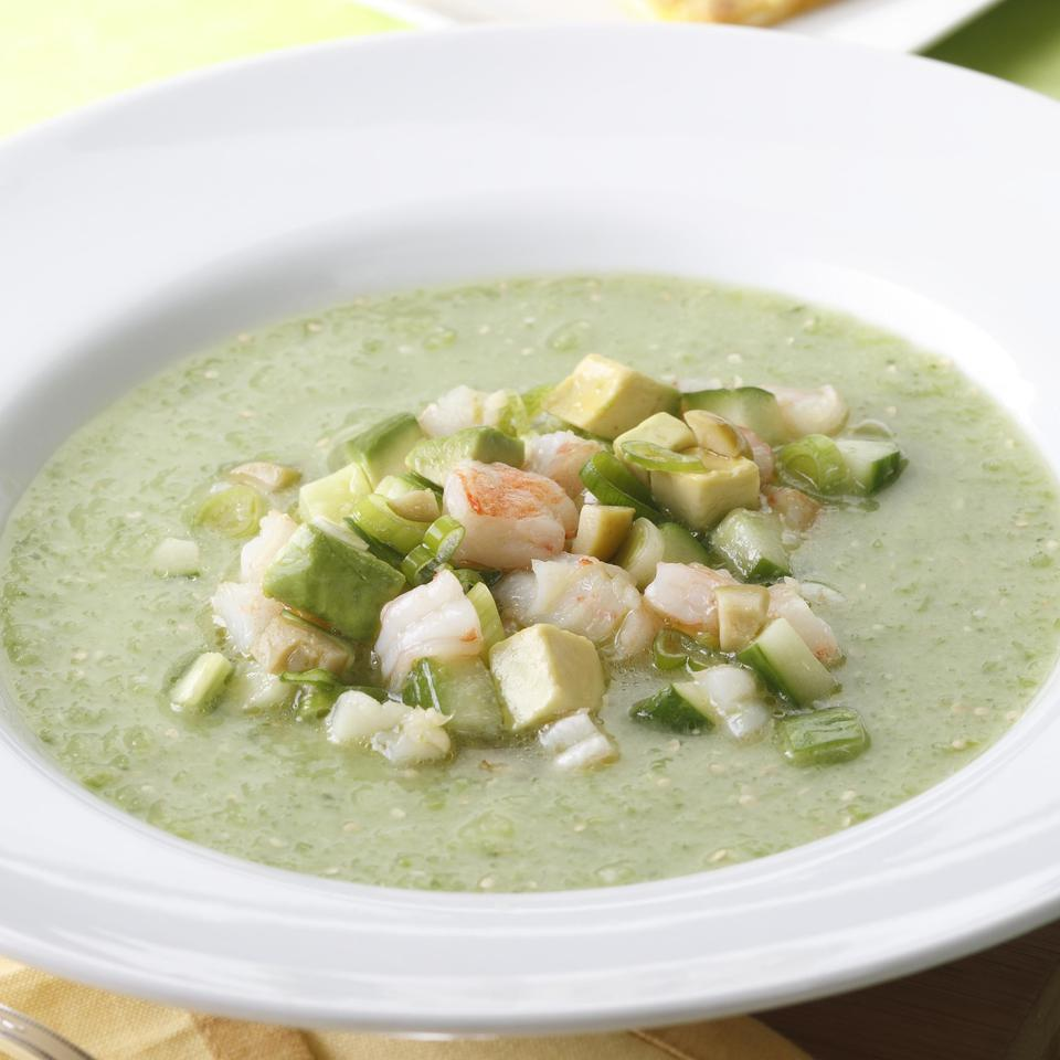 Tomatillo Gazpacho EatingWell Test Kitchen