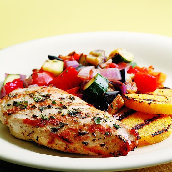 Grilled Chicken Ratatouille EatingWell Test Kitchen
