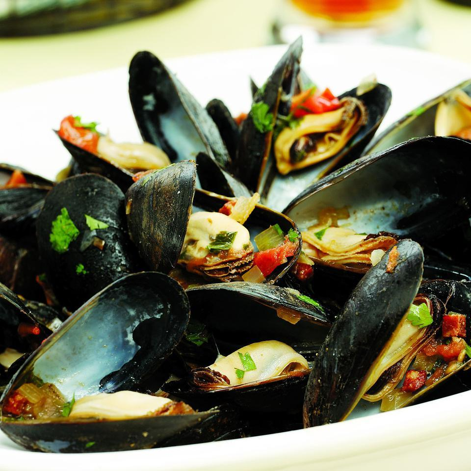 Mussels South of Two Borders EatingWell Test Kitchen