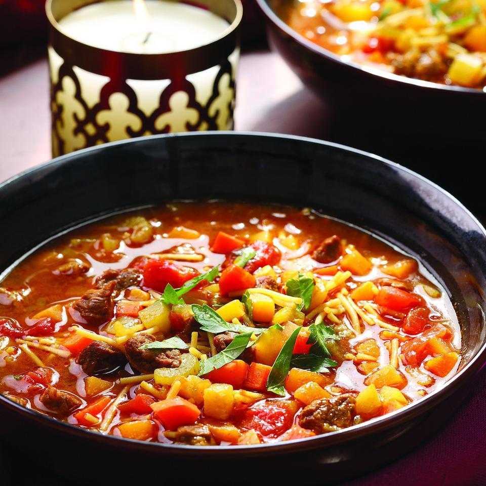 Moroccan Vegetable Soup (Chorba) Kitty Morse