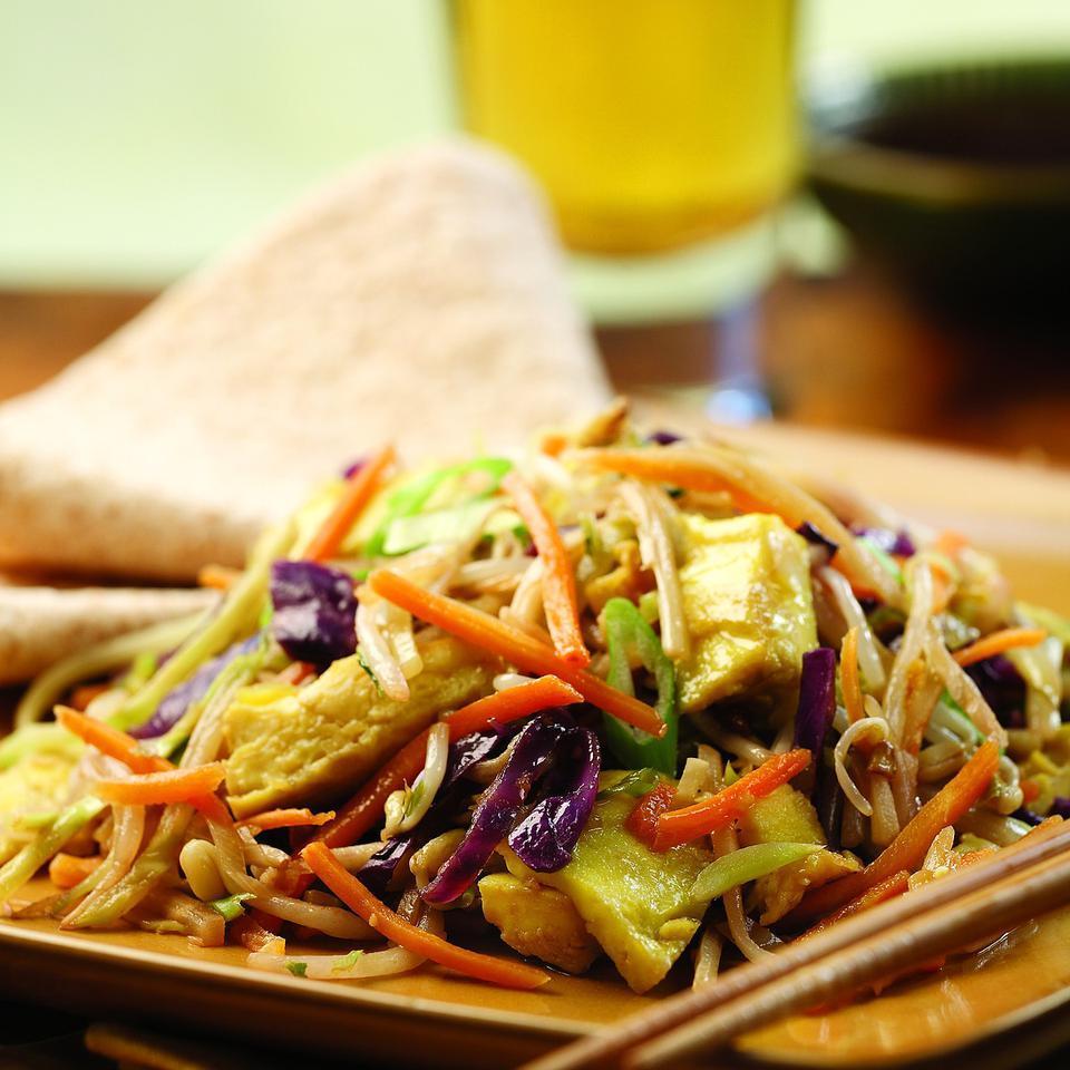 Moo Shu Vegetables EatingWell Test Kitchen