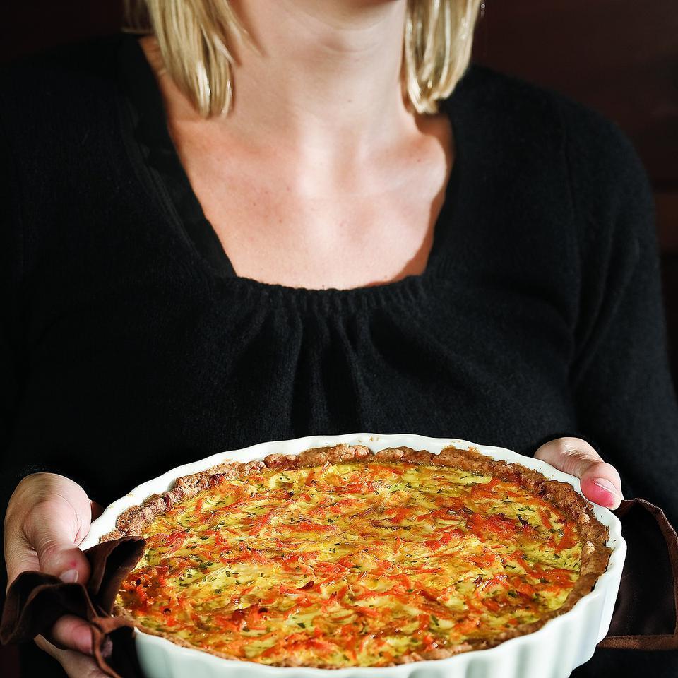 Savory Carrot & Tarragon Tart Ellen Ecker Ogden