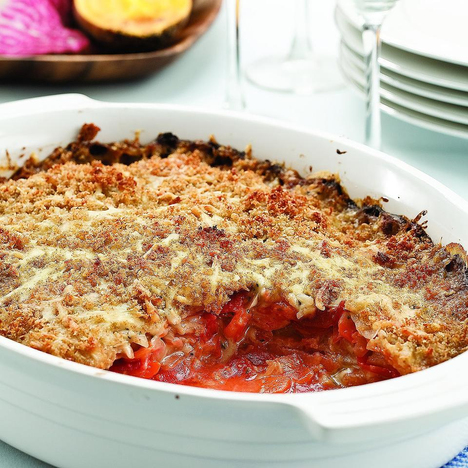 Root Vegetable Gratin Carolyn Malcoun