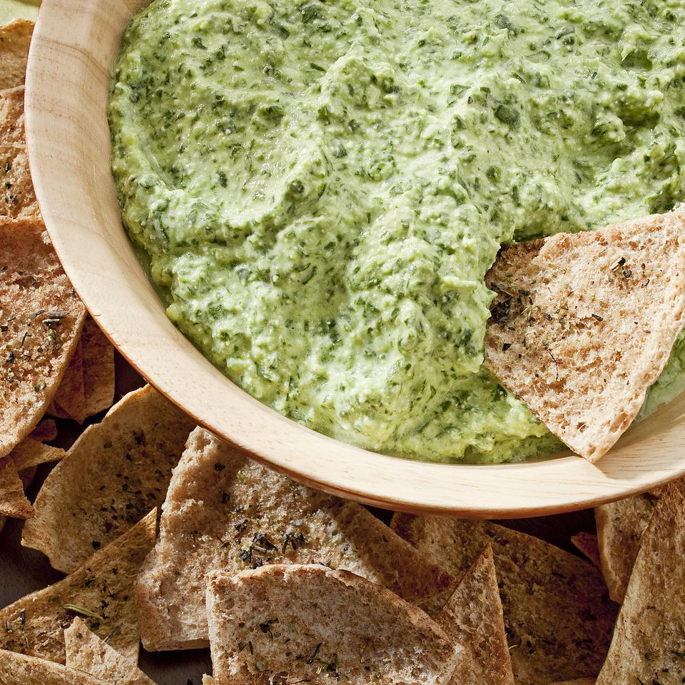 Creamy Spinach Dip EatingWell Test Kitchen