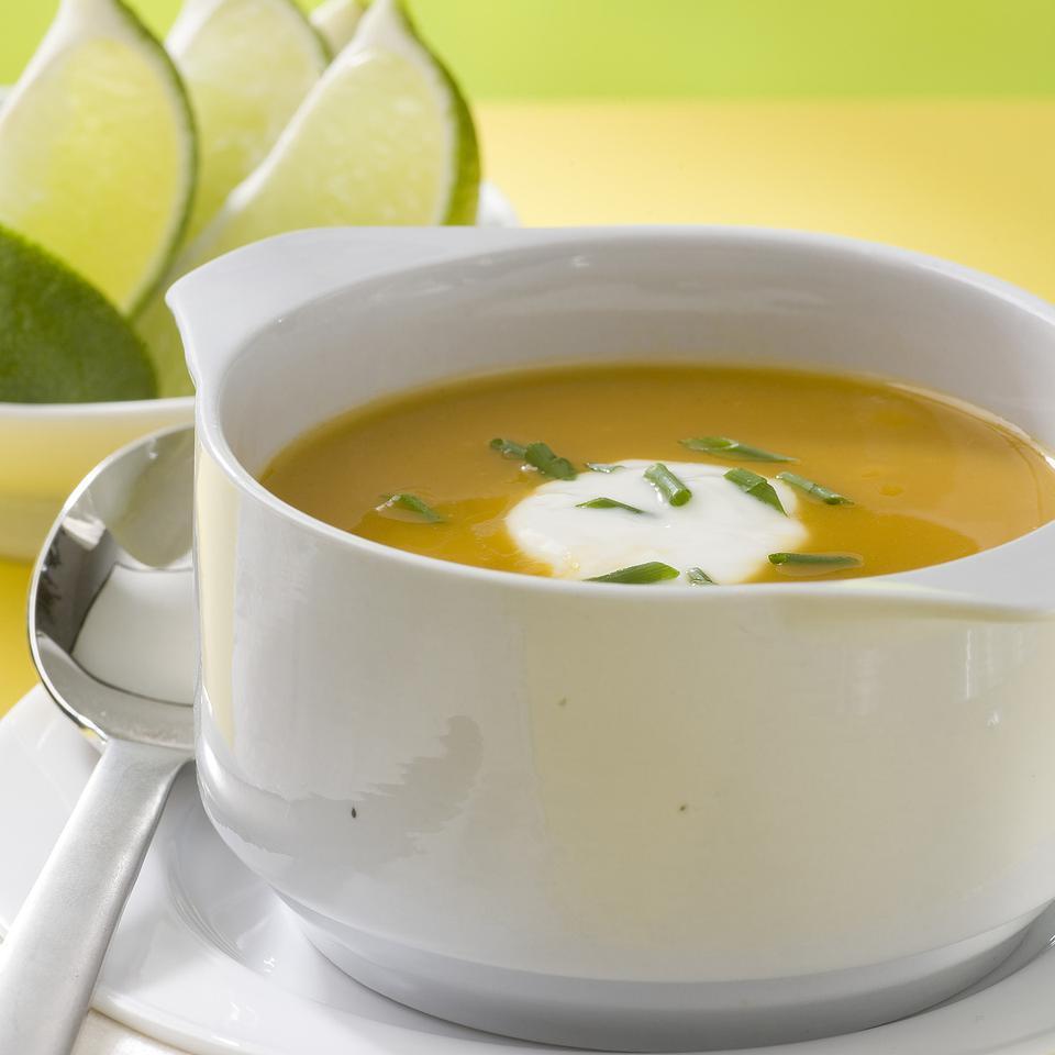 Baja Butternut Squash Soup Jesús González