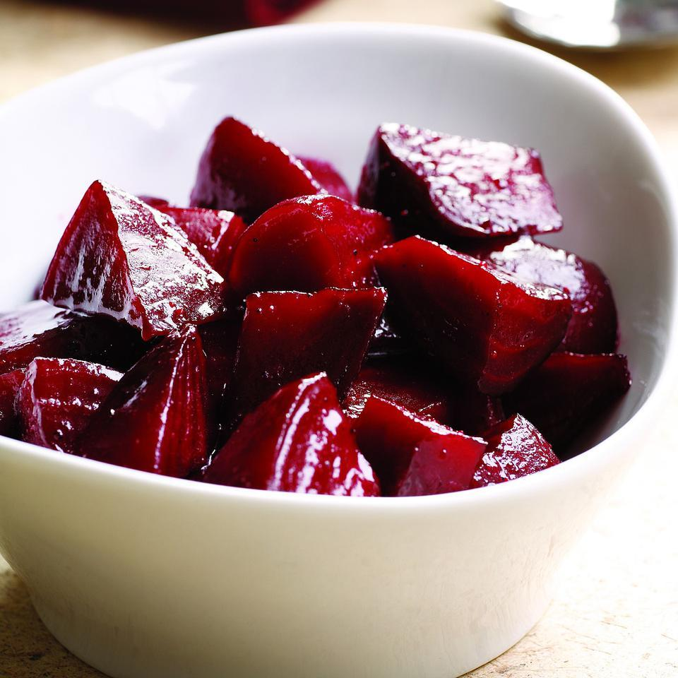 Brown Sugar-Glazed Beets EatingWell Test Kitchen