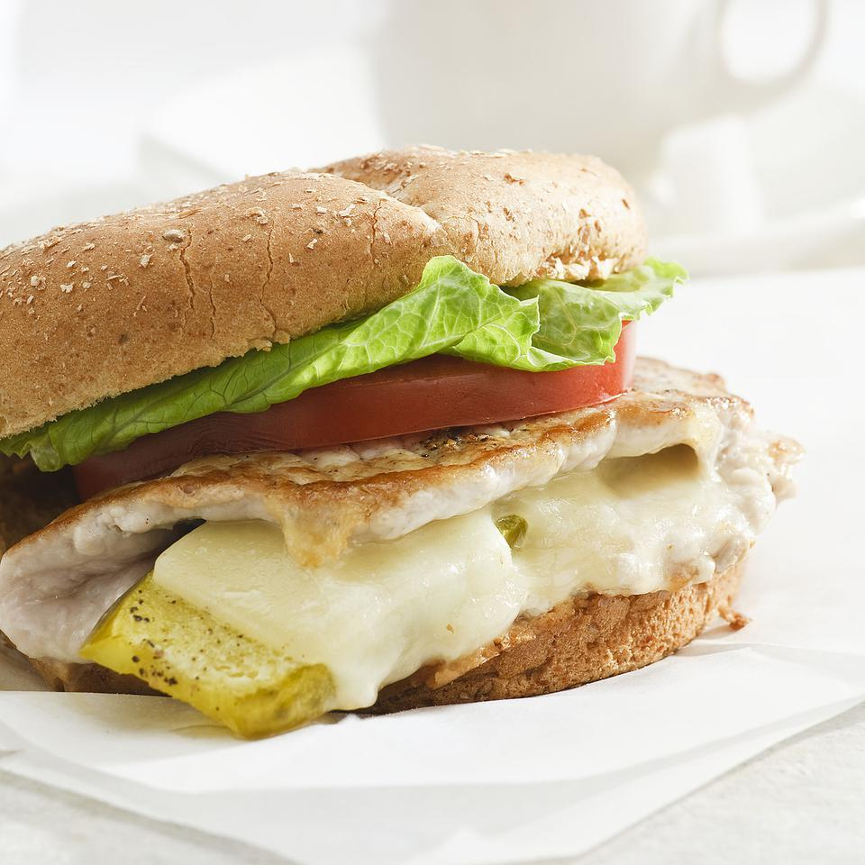 Stuffed Pork Sandwiches for Two EatingWell Test Kitchen