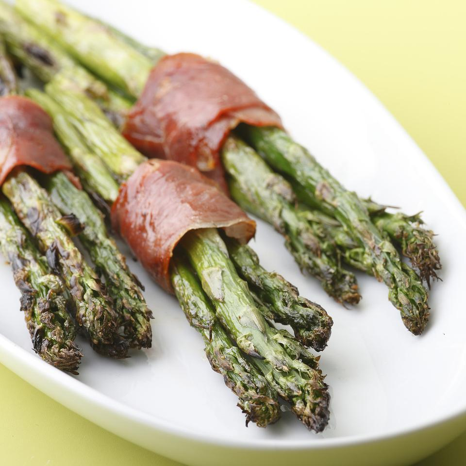 Prosciutto-Wrapped Asparagus EatingWell Test Kitchen