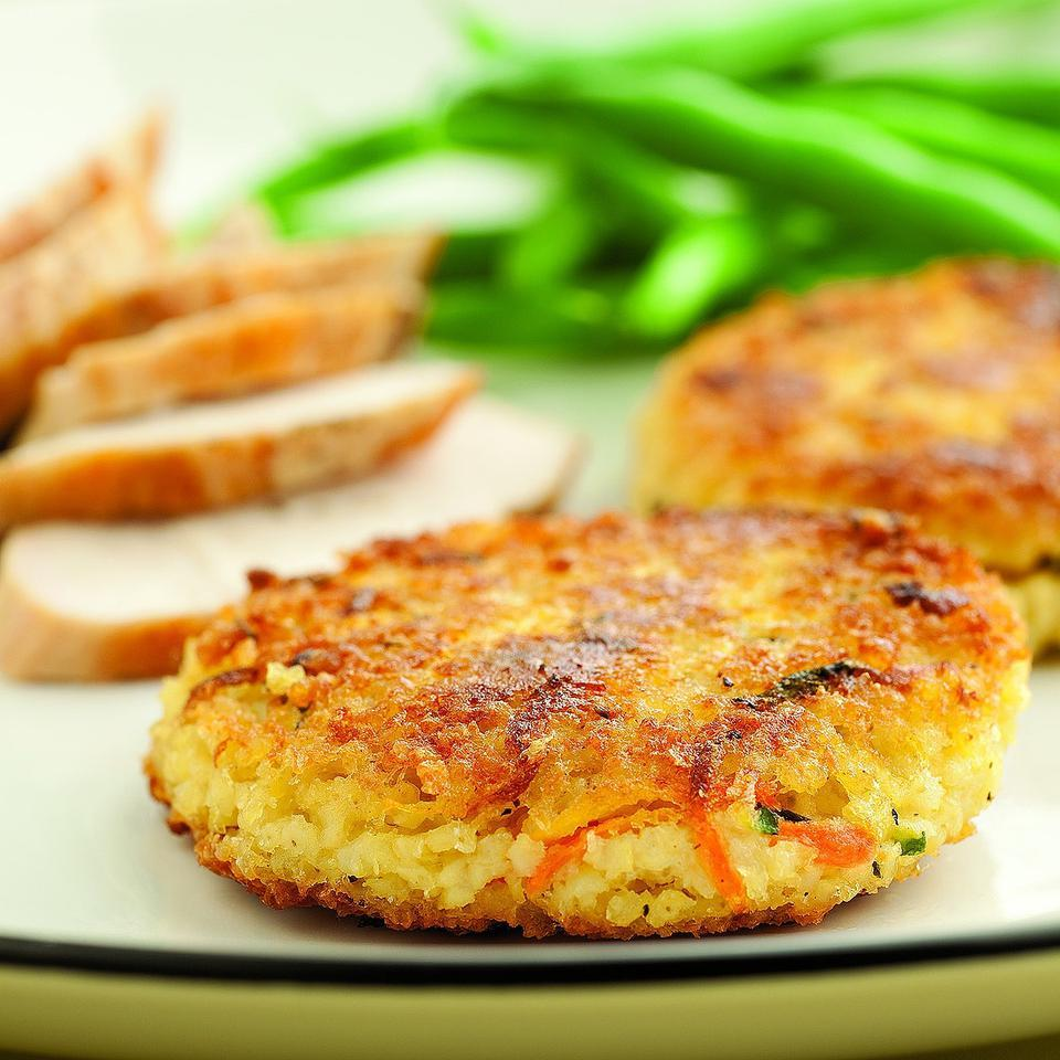 Savory Millet Cakes Marie Simmons