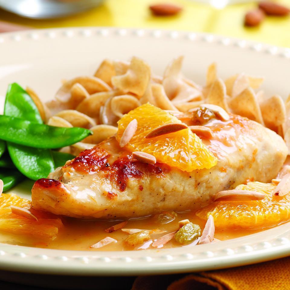 Chicken with Honey-Orange Sauce EatingWell Test Kitchen