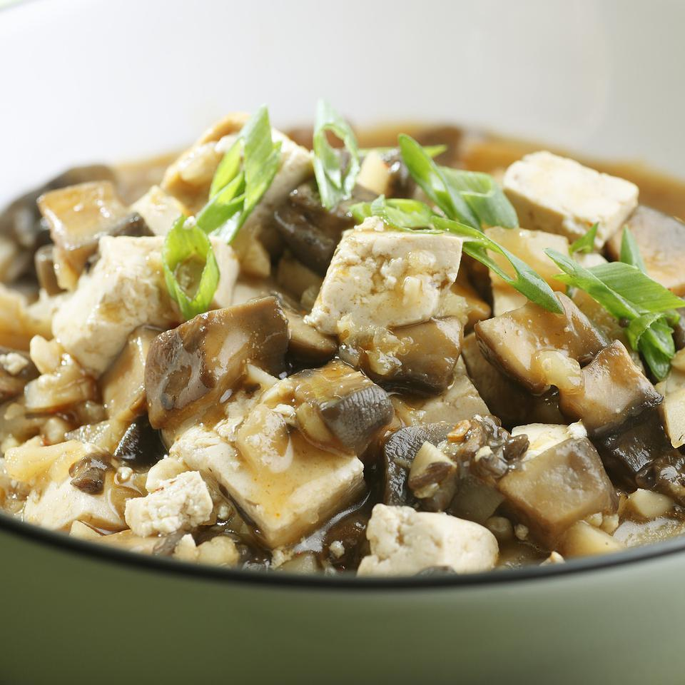 Chinese Braised Mushrooms & Tofu EatingWell Test Kitchen