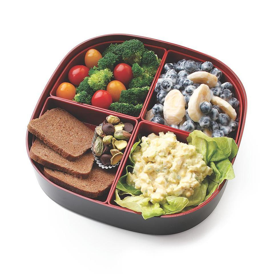 Egg Salad Bento Lunch Stacy Fraser