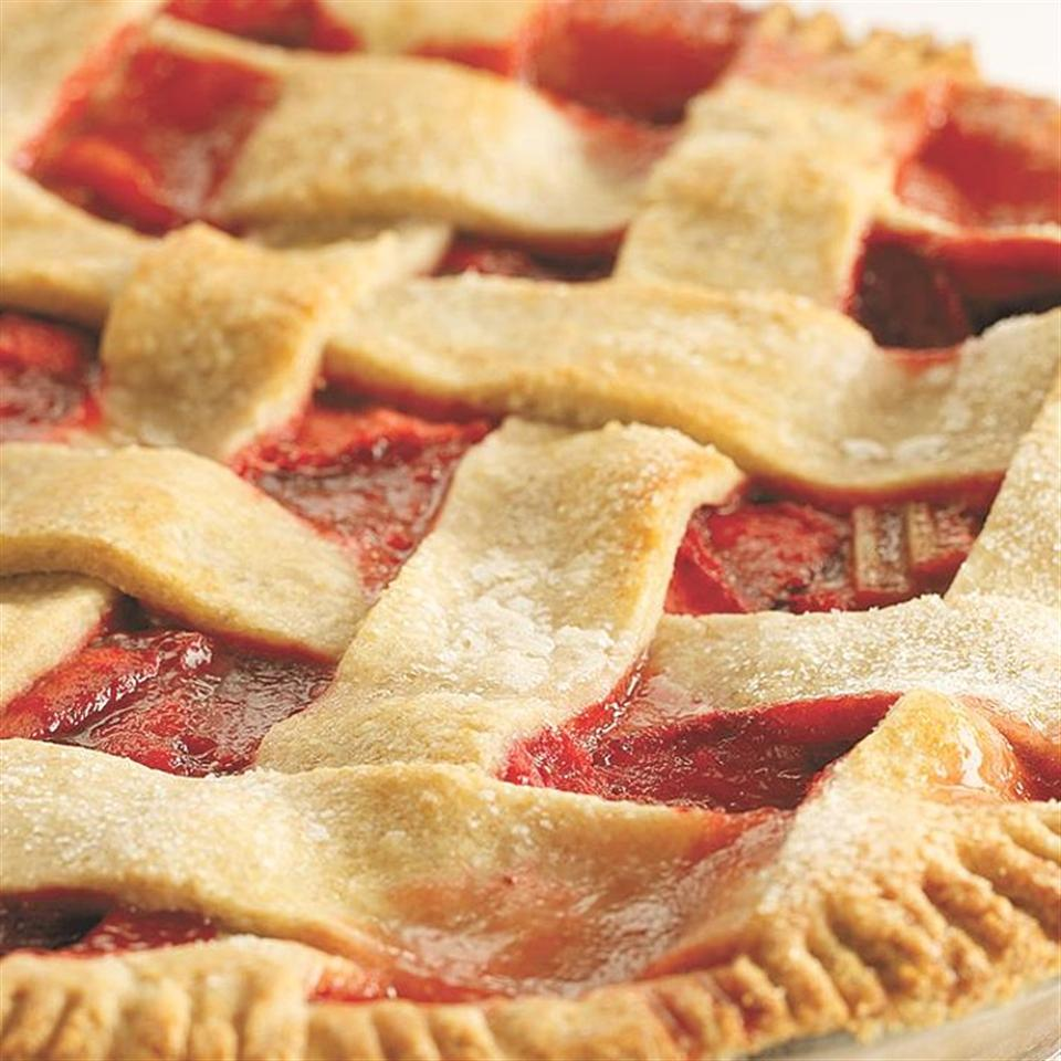 Strawberry Rhubarb Pie Hilary Meyer