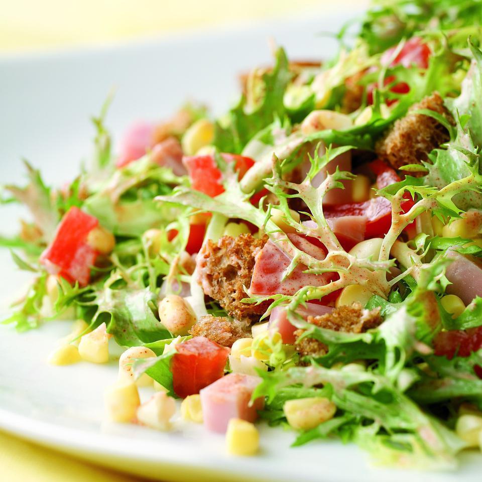 Smoky Ham & Corn Salad EatingWell Test Kitchen