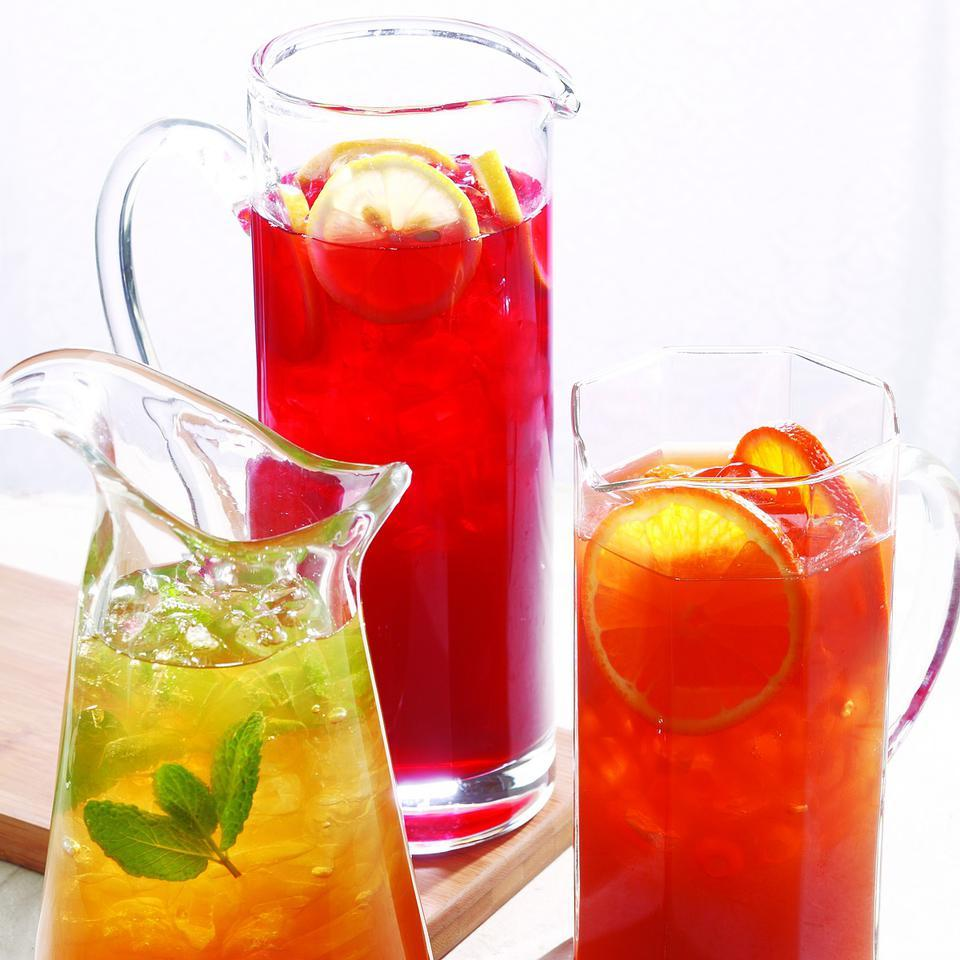 Green Jasmine-Mint Iced Tea with Lemon EatingWell Test Kitchen