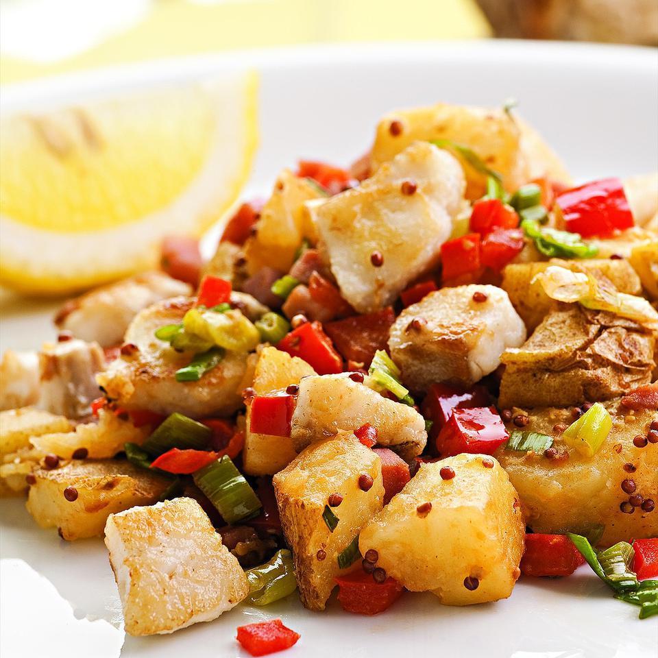 Catfish & Potato Hash EatingWell Test Kitchen