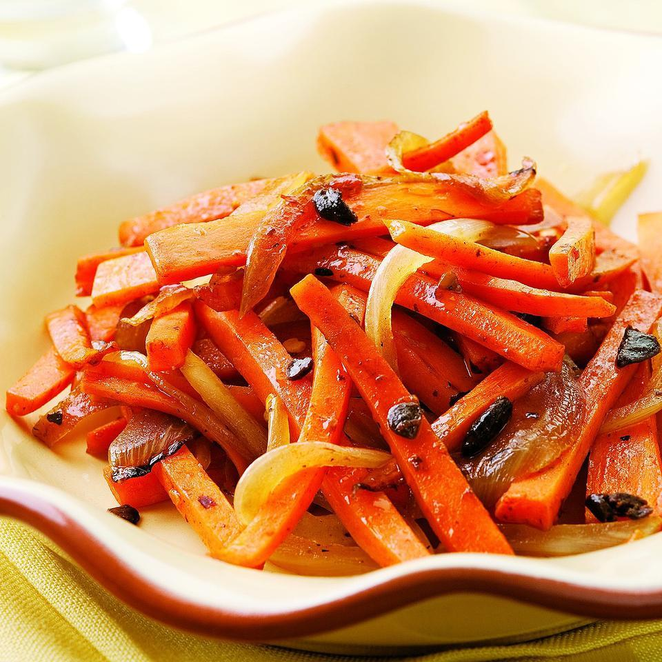 Hot & Sour Carrots EatingWell Test Kitchen