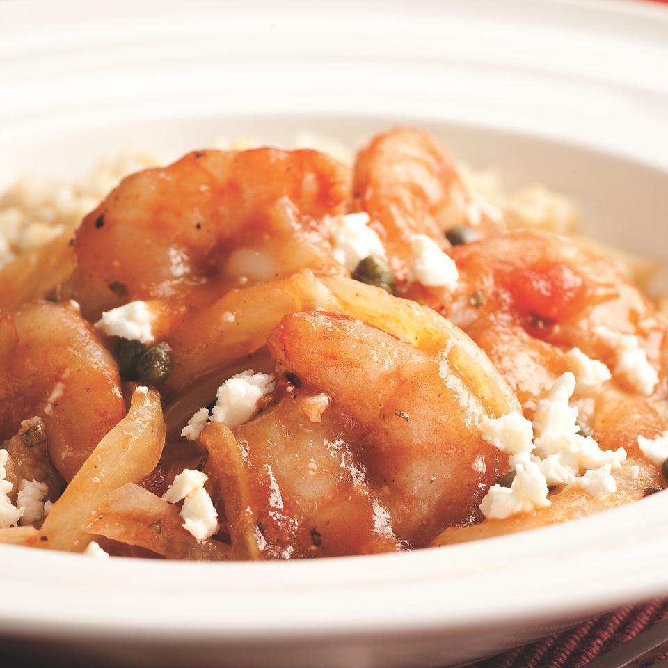 Mediterranean Sauteed Shrimp & Fennel EatingWell Test Kitchen