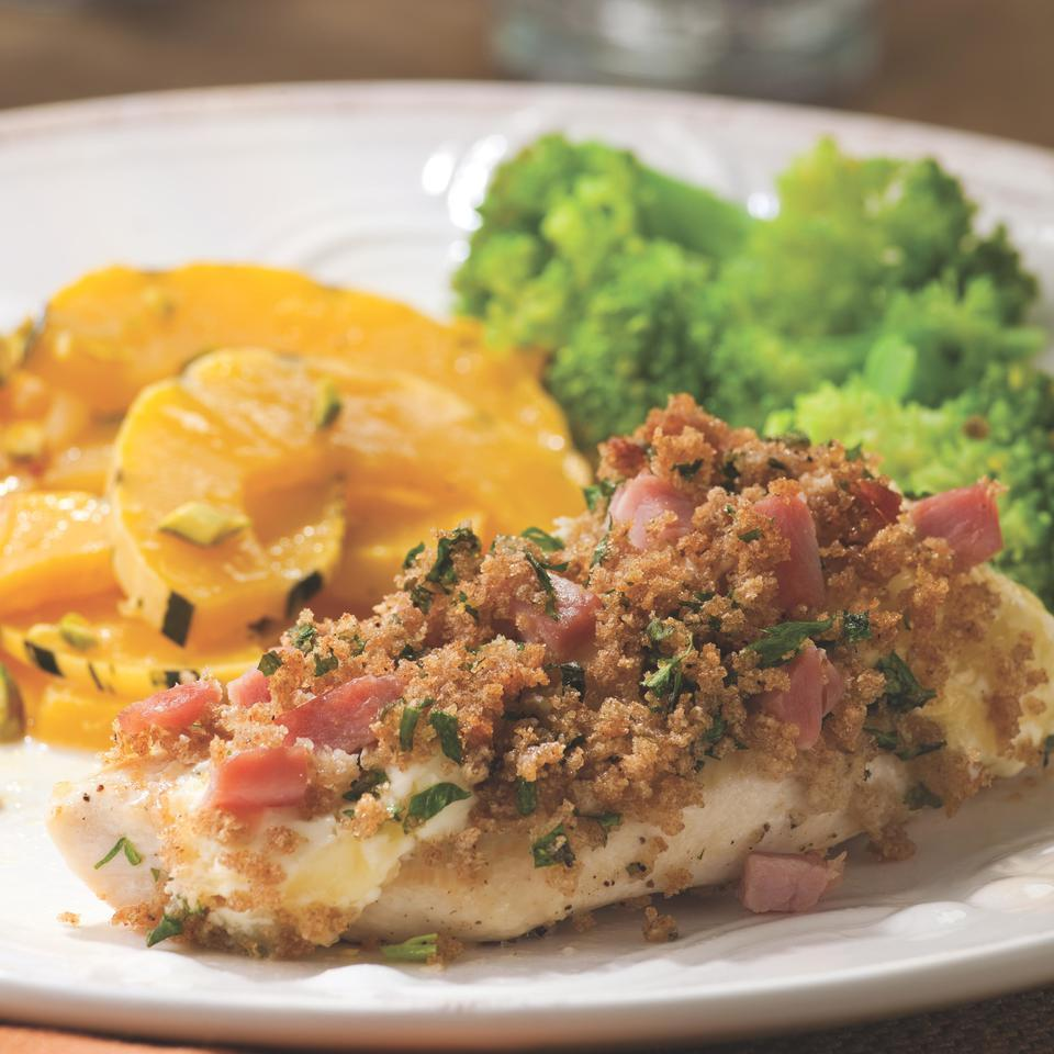 Quick Chicken Cordon Bleu EatingWell Test Kitchen